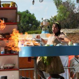 Spectacle la Cuisinière Cie Tout en Vrac Jardins de Brocéliande 15 juillet 2018