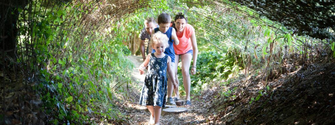 Parcours Sensoriel Tunnel en famille