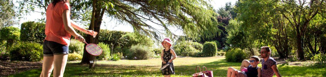 badminton aux jardins de brocéliande