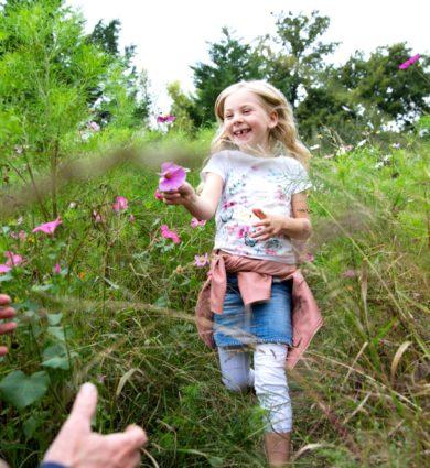 prairie fleurie enfant
