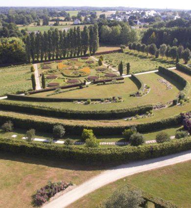 jardin à la française brocéliande
