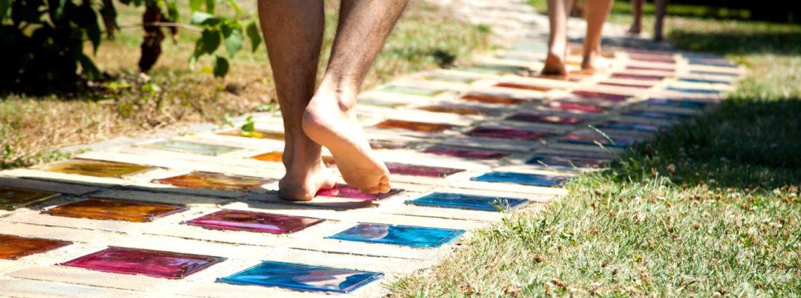 Reveille tes pieds - pieds nus