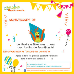 carton invitation anniversaire2018