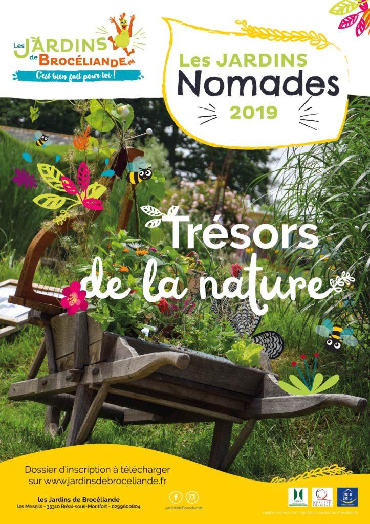 Jardins Nomades 2019 affiche