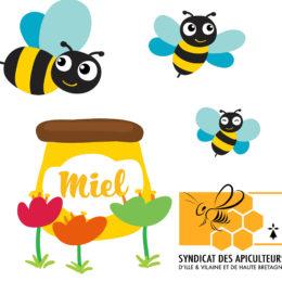 abeilles, miel, syndicat des apiculteurs 35