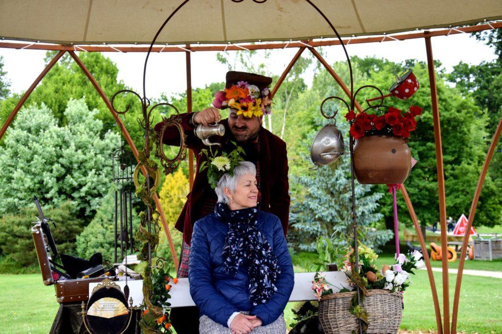 raccommodeur de fleurs