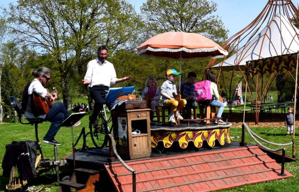 Cabaret-cyclette avec Bille de bouèz
