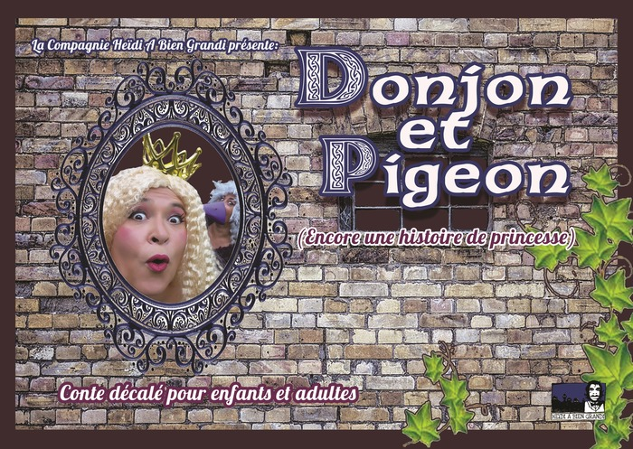 Donjon et pigeon spectacle humour