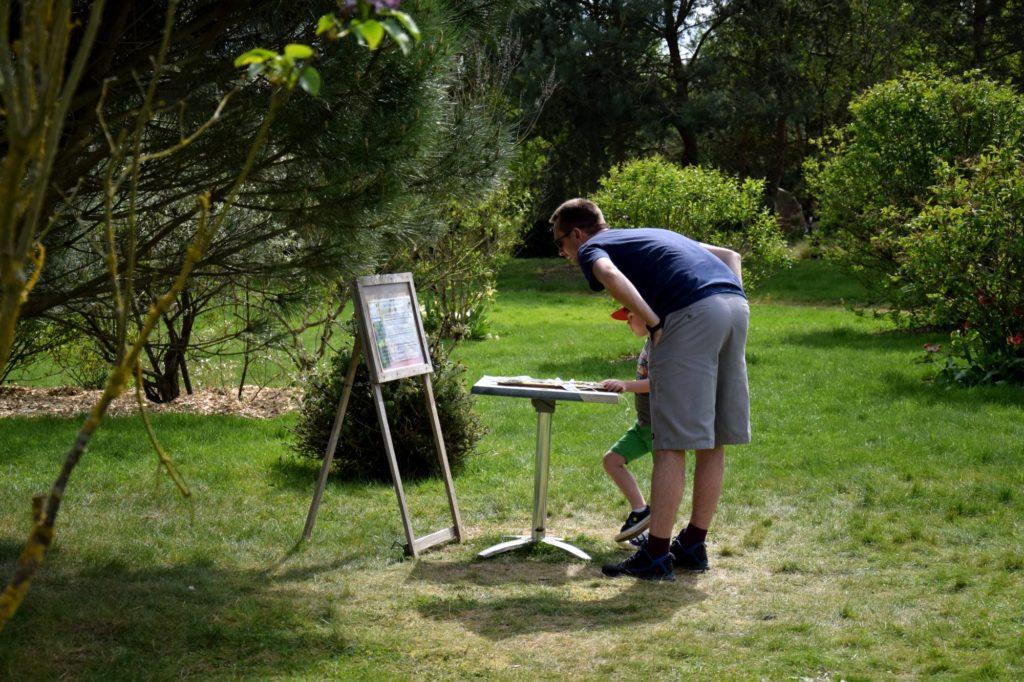 jeu de piste aux Jardins de Brocéliande