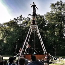 Maison feu, spectacle compagnie Xav to yilo